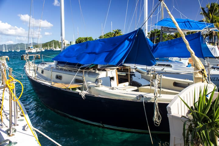 Stay on a 37' Sailboat in Paradise! - Red Hook - Boat