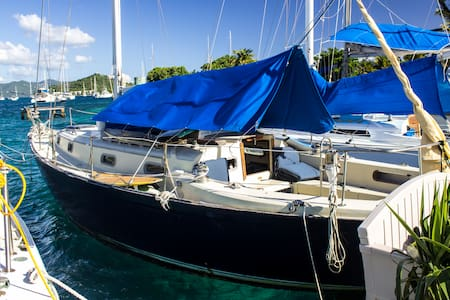 Stay on a 37' Sailboat in Paradise! - Red Hook - Barca
