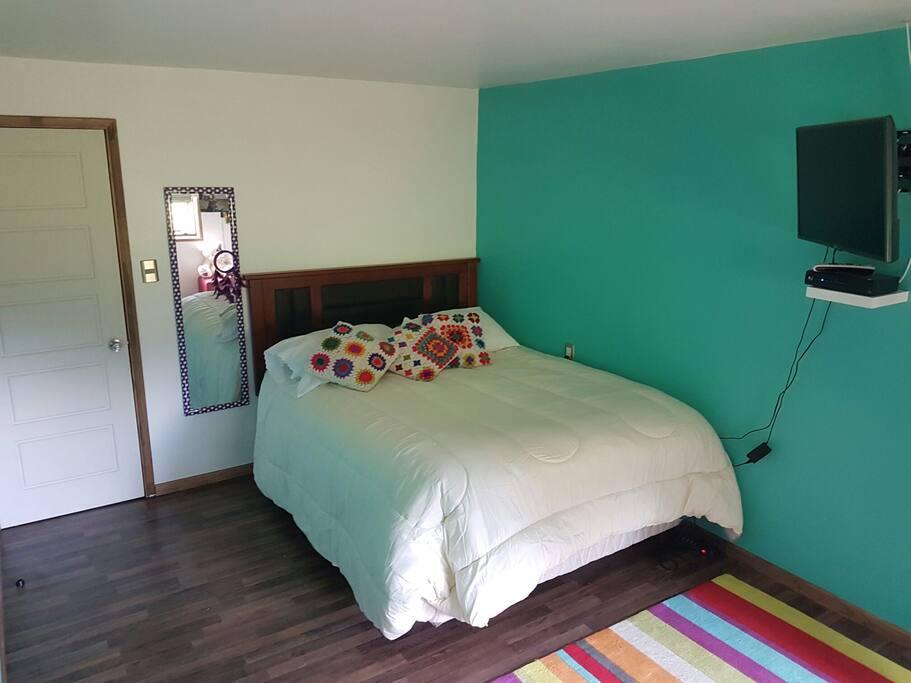Una de nuestras habitaciones disponibles para nuestros huéspedes.