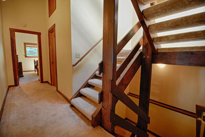 Main stair case for all floors