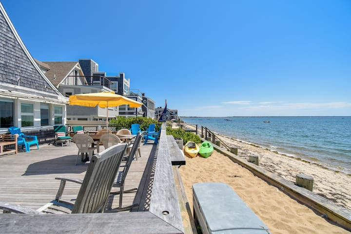 #105: On Commercial Street right on the beach! Sweeping views of P-town Harbor!