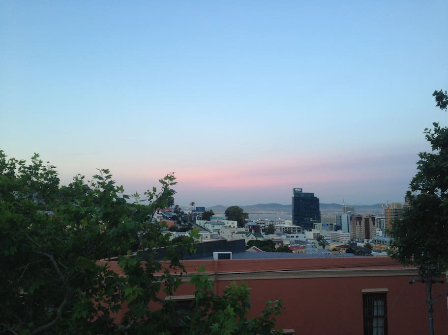 BO KAAP - view from the terrace