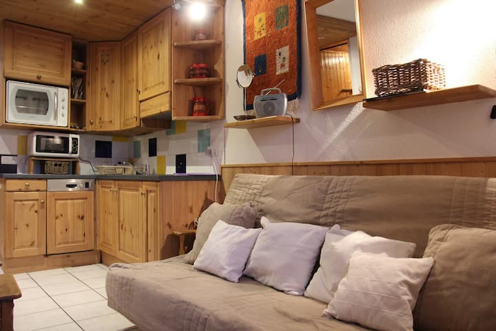 4 persons apartment in the heart of the resort