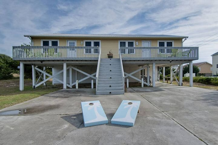 **Only 90 yards to beach** - Emerald Isle - House