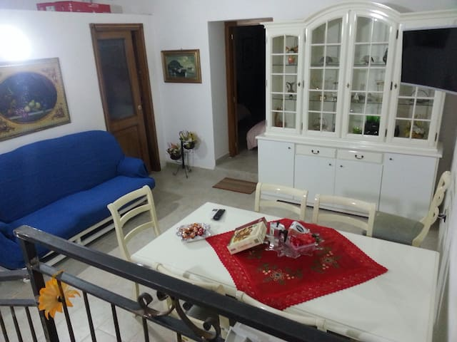 Cozy apartment on the ground floor near Naples - Qualiano - Apartamento