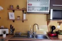 La cuisine - détail