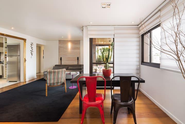 Contemporary, gorgeous, spacious - São Paulo - Apartamento