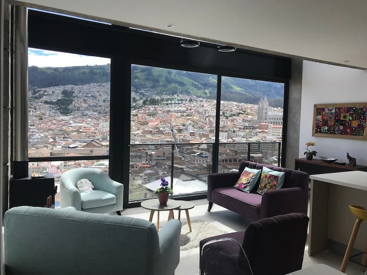 Unique Loft Apartment in Downtown Historic Quito