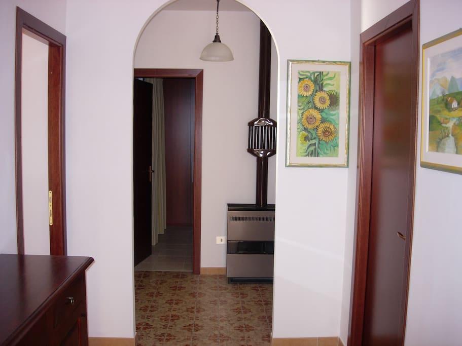 Entrata e corridoio