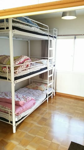 Clean & Simple Private Room! with free parking