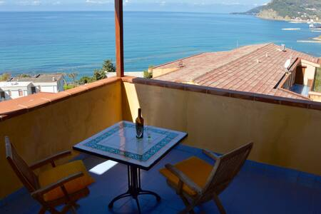 Lovely Panoramic Penthouse - Agnone Cilento