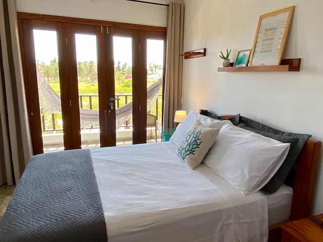 Suíte Natureza - Cama de casal e cama extra desmontável