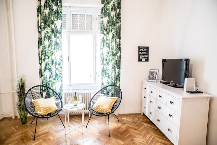 Ideal studio for couples in the heart of the city
