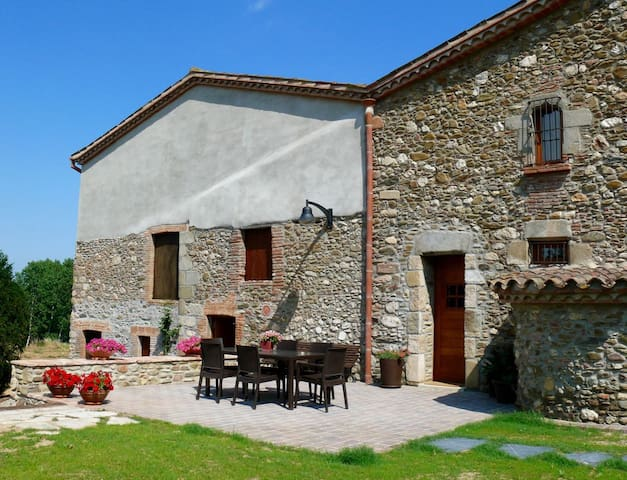 Old farmhouse renovated with charm2 - Santa Maria de Palautordera - Apartemen