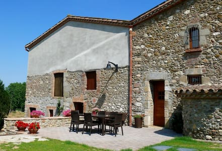 Old farmhouse renovated with charm2 - Santa Maria de Palautordera - Daire