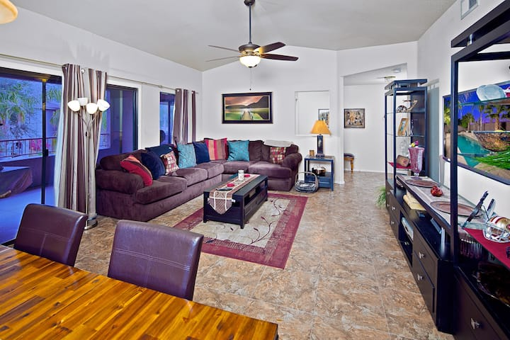 Prime Location, Heated Pool, Relaxing Spa, & More