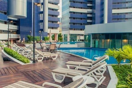 Flat com 02 quartos no melhor de Fortaleza - Fortaleza