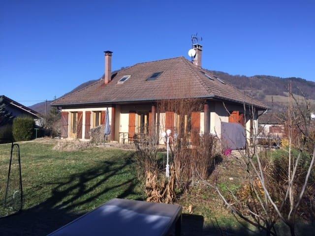 Maison familiale au coeur de la Chartreuse - Saint-Étienne-de-Crossey