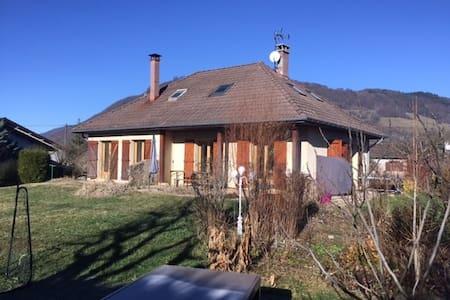 Maison familiale au coeur de la Chartreuse - Saint-Étienne-de-Crossey - Haus