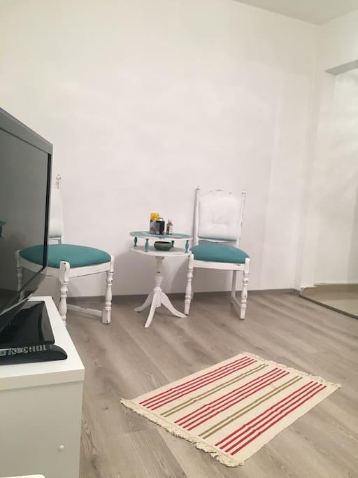 Living room+ Dinnig area