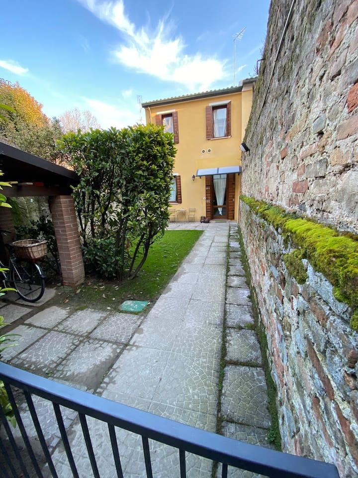 Casetta con giardino in Prato della Valle
