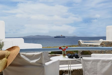 Luxurius Apartment by the Sea - Míkonos
