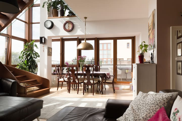Pokój w wyjątkowym apartamencie, Konstancin-Jez. - Konstancin-Jeziorna - อพาร์ทเมนท์