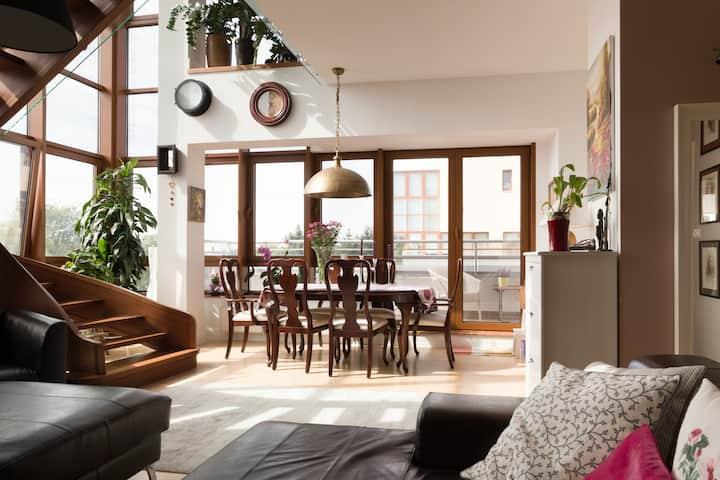 Pokój w wyjątkowym apartamencie, Konstancin-Jez.