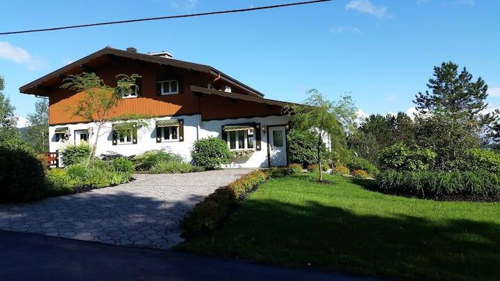 Le Chalet suisse avec spa extérieur