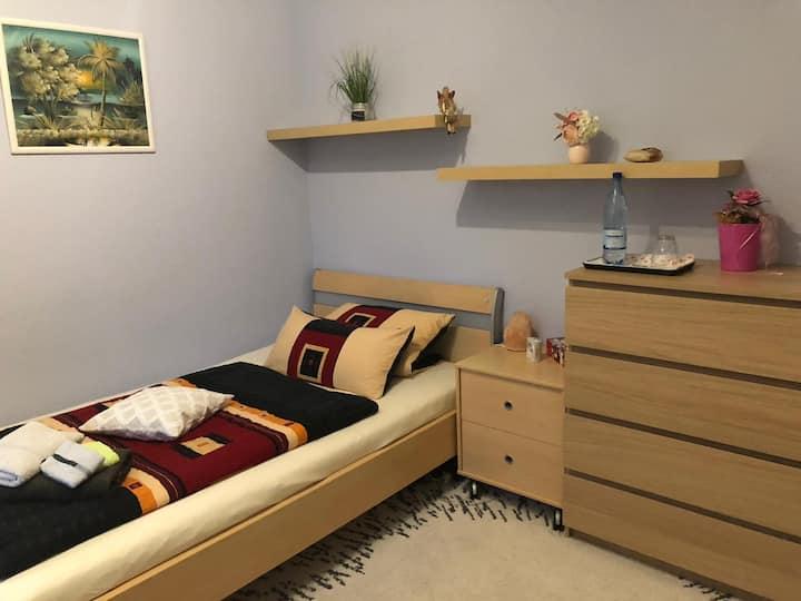 Schönes ruhiges Zimmer am Klinikum Fulda