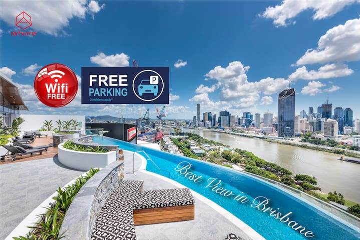 GreySt·Best River front APT in Southbank·Spacious
