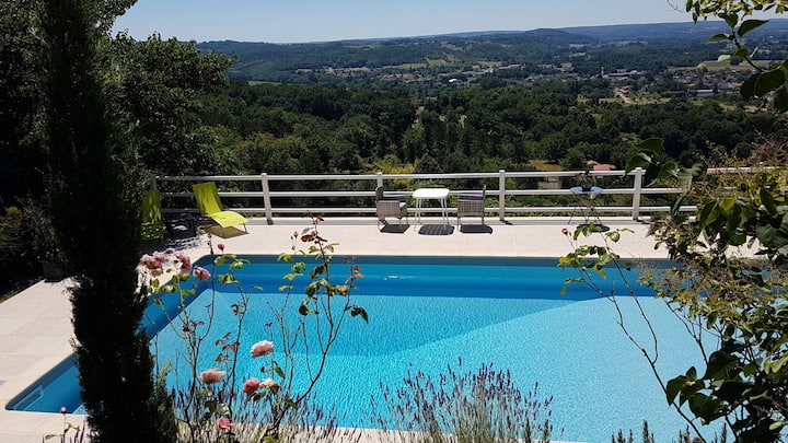 holidays house for 2 personns with panoramic view