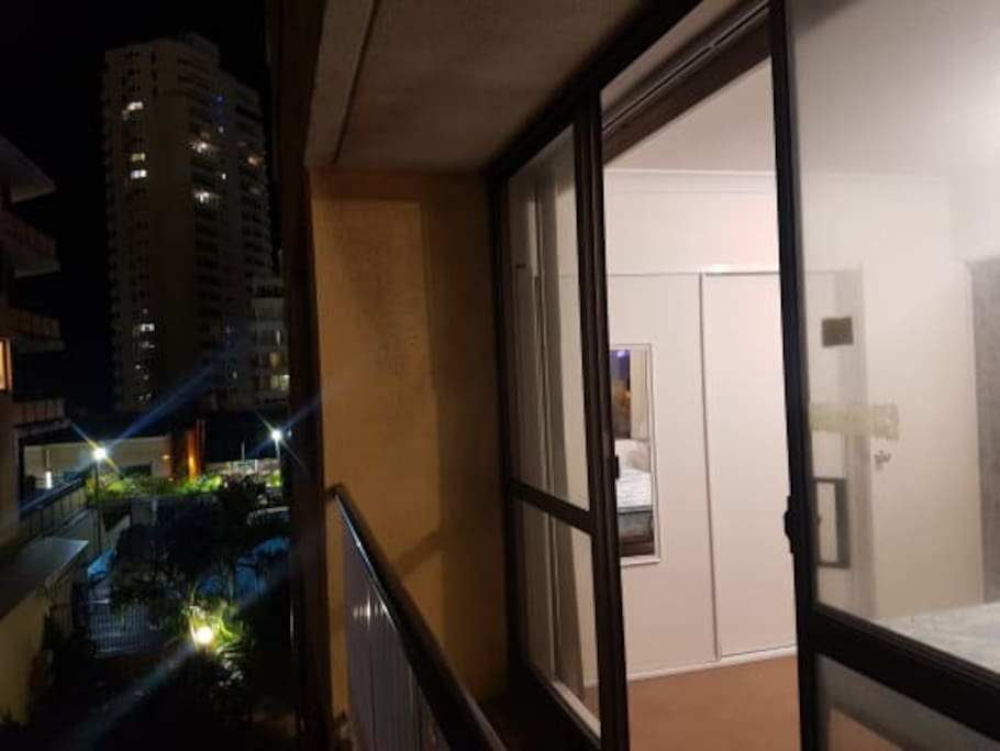 balcony in the room