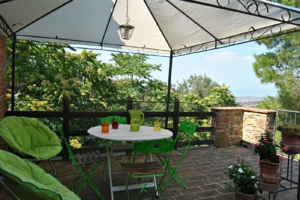 terrazza appartamento belvedere