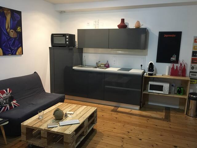 Appartement terrasse hyper-centre - 羅什福爾(Rochefort) - 公寓