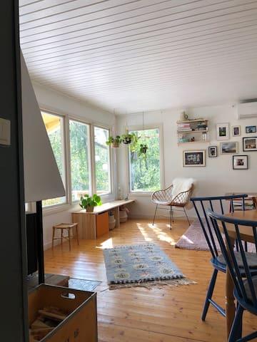 Cozy cabin in beautiful nature close to Gothenburg