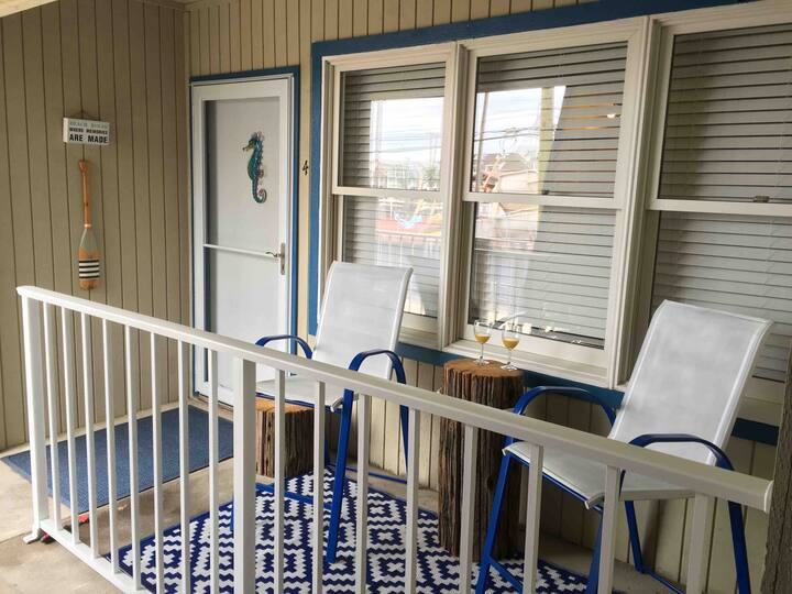 Boardwalk side Condo with assigned parking space
