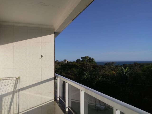 Apartamento meaipe com vista para o mar