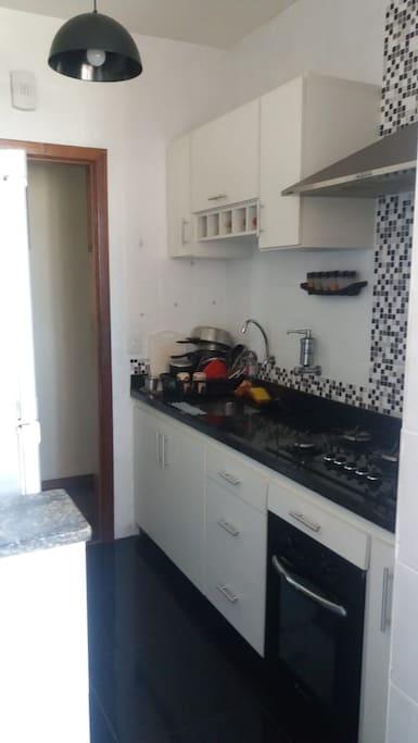acesso à cozinha de uso do proprietario para cafe da manha