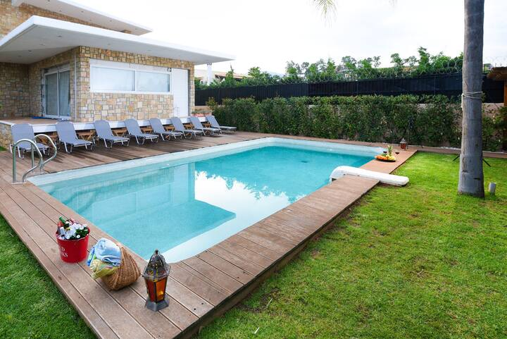 Villa with 5 bedrooms in Kitsi, with private pool, enclosed garden and WiFi