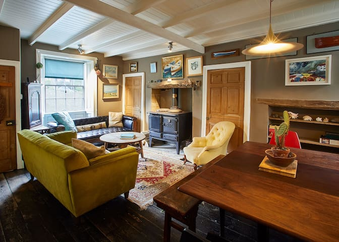 Living Room - Cowbar View Cottage