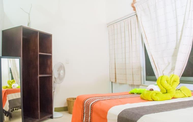 Posada El Secreto, room# 6, with private bathroom