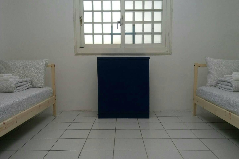 三樓單人床房間