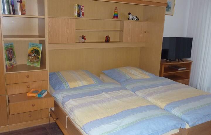 Ferienbauernhof Gördes, (Schmallenberg), Fuchsbau, 30qm, 1 Wohn-/Schlafzimmer, max. 2 Personen