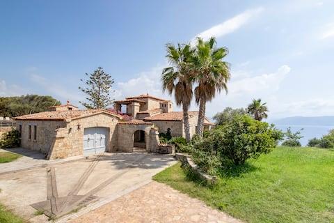 Magnifique villa superbe vue mer piscine chauffée