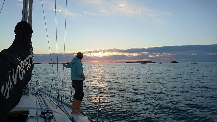 24H de croisière, une nuit aux îles GLenan - fouesnant - Boat