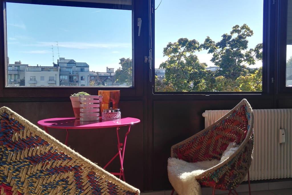 balkony/wintergarden