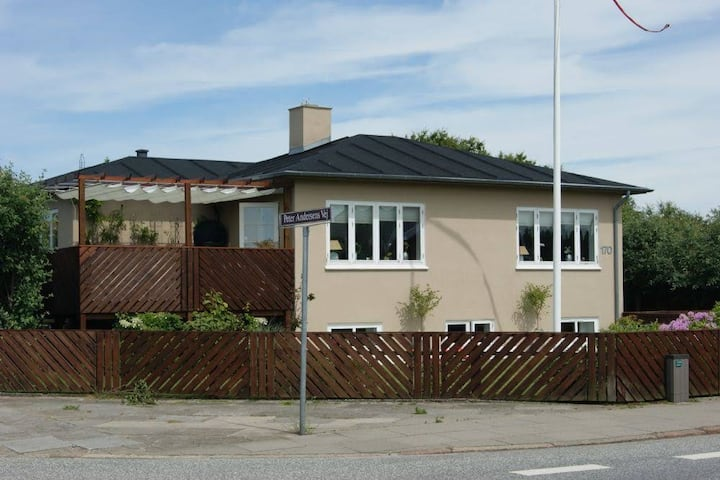 Double room, with own entrance 1, in Skagen.