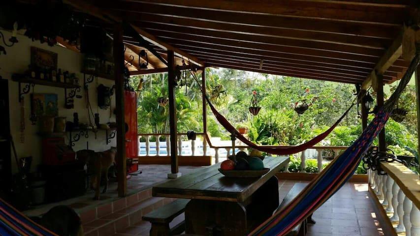 Finca los Lagos - Antioquia  - Huis