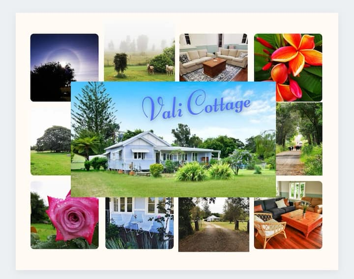 VALI COTTAGE. A charming 100 year old farmhouse.